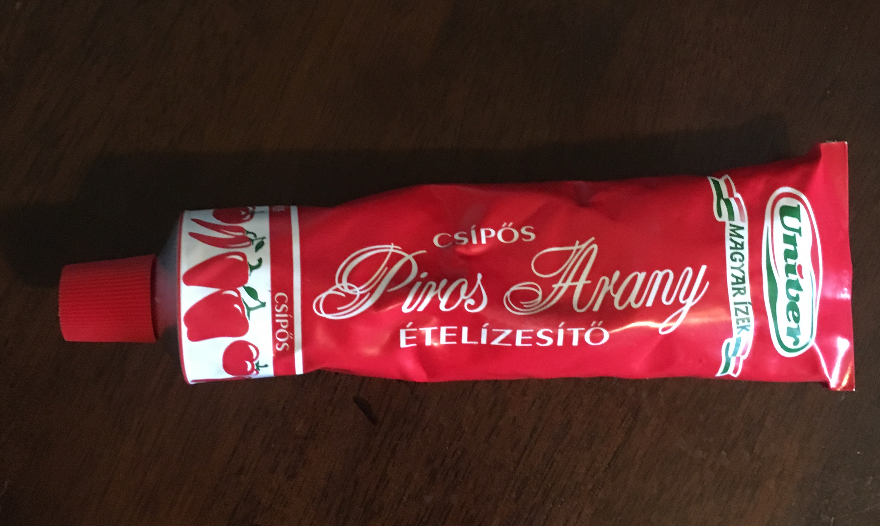 Red Gold (Piros Arany) Paprika Paste - HOT