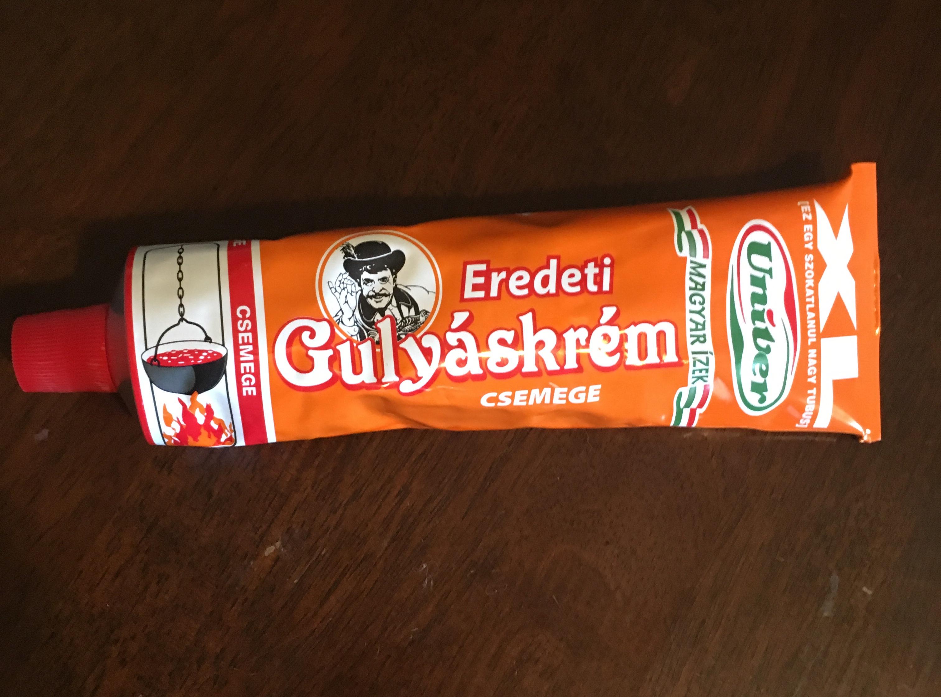 Hungarian Gulyaskrem (mild)