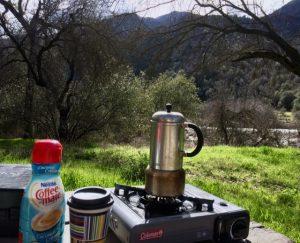 camping coffe, campfood, campstove