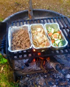 campfire cooking camping food easy campfood