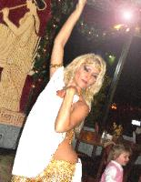 Belly Dancer - Greek Town Restaurant, El Cajon Ca