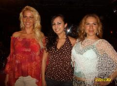 Belly Dancer Marianna - Sara - Flamenco Dancer Paloma - Cafe Sevilla