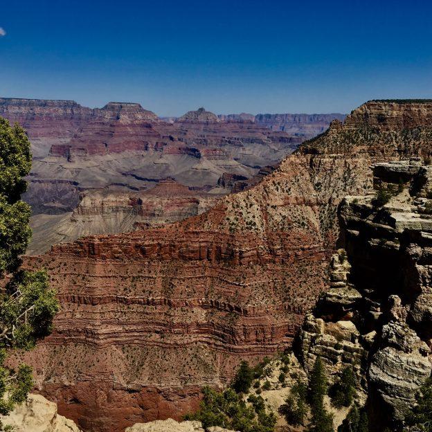 Camping at the Grand Canyon South Rim